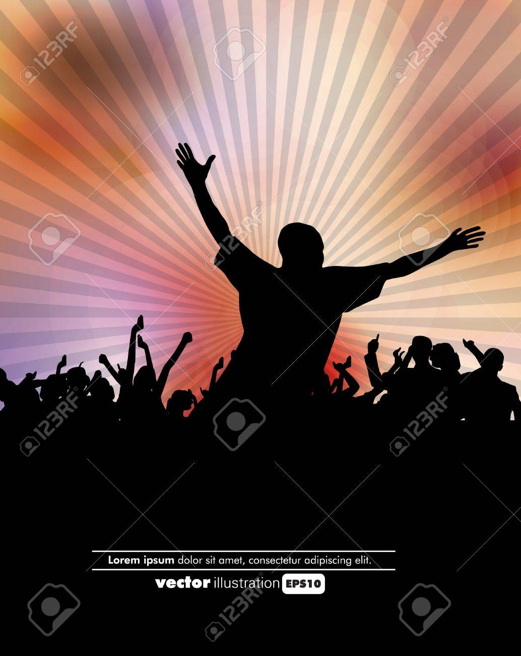 Party illustration Stock Vector - 13027919