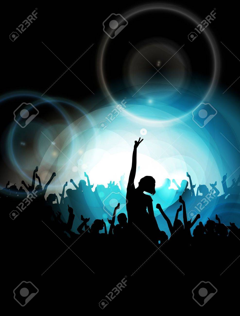 Vector party background Stock Vector - 13155591