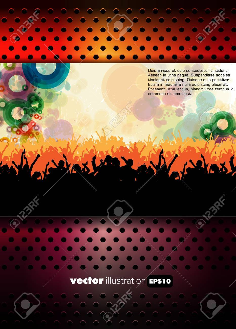 Party vector illustration Stock Vector - 13442400