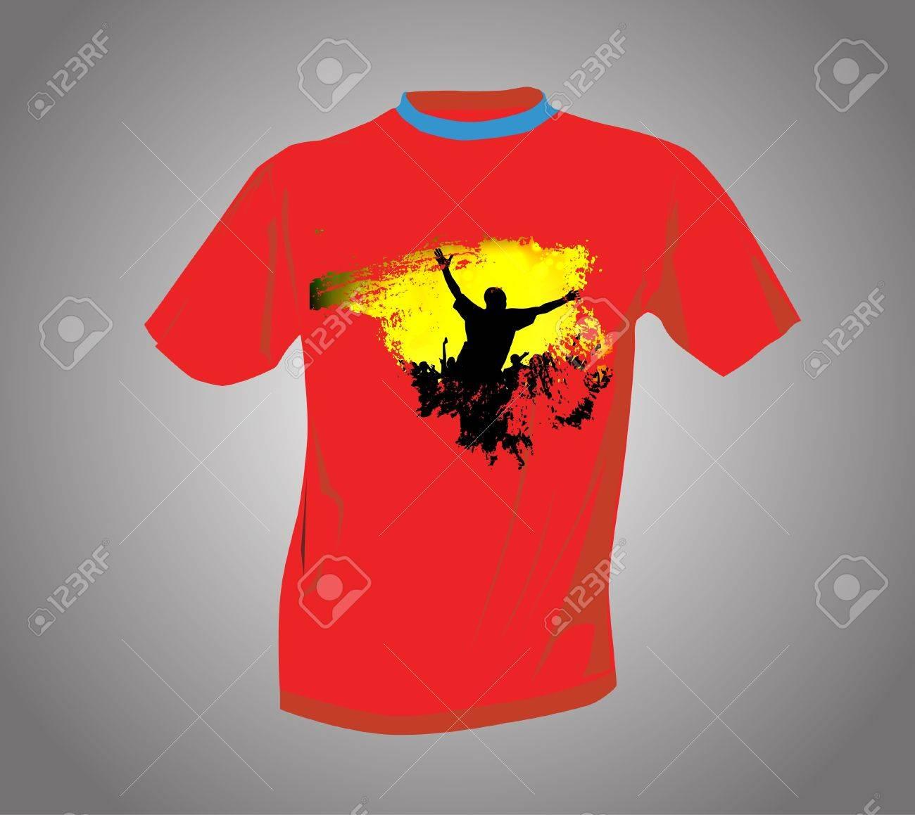 T-shirt Stock Vector - 14017785