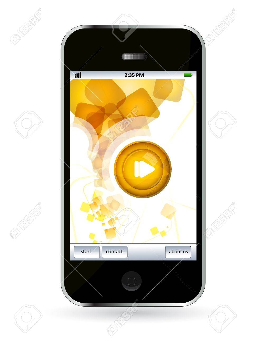 Mobile phone Stock Vector - 14245066