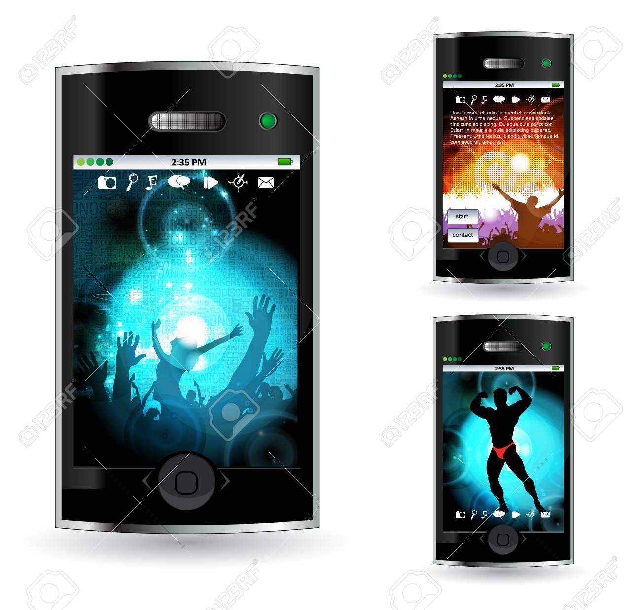 Smart phone Stock Vector - 14378942