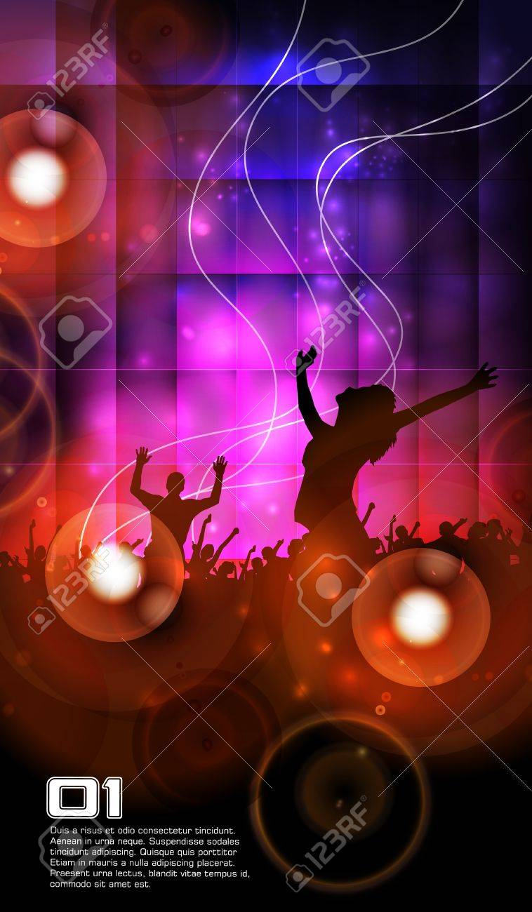 Music party illustration Stock Vector - 15198950