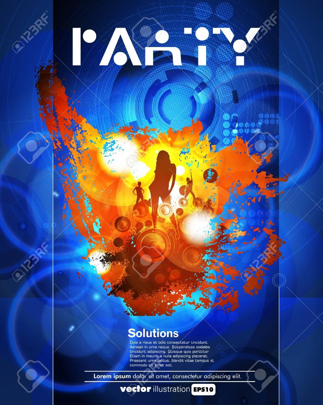 Concert poster  Vector illustration Stock Vector - 15338662