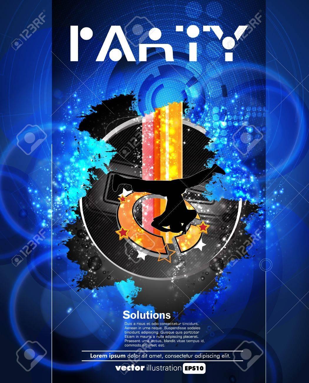 Concert poster  Vector illustration Stock Vector - 15338661