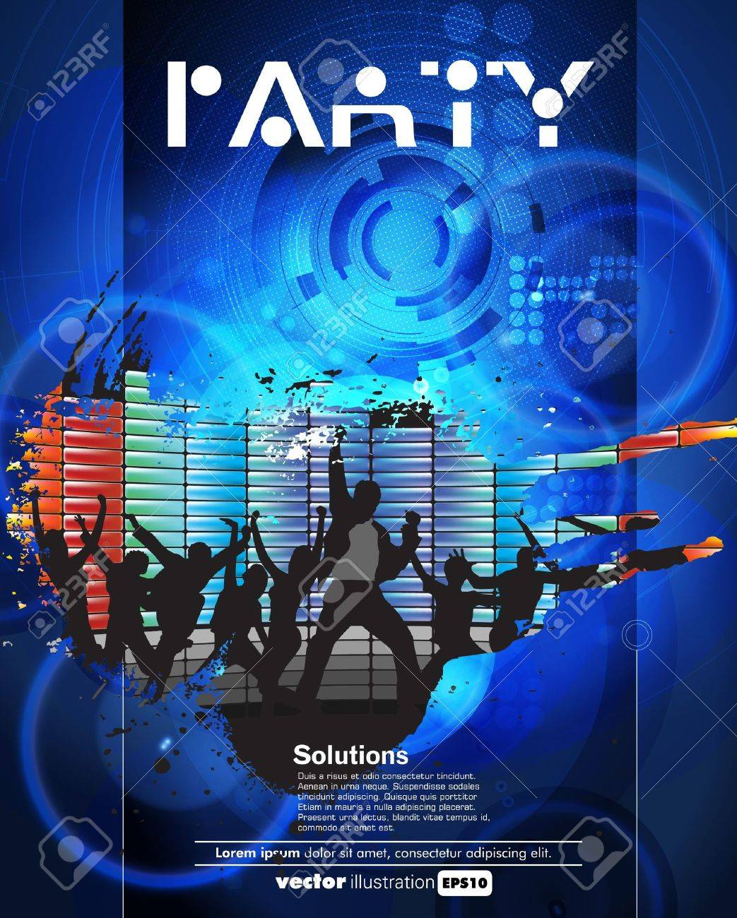 Concert poster  Vector illustration Stock Vector - 15338650