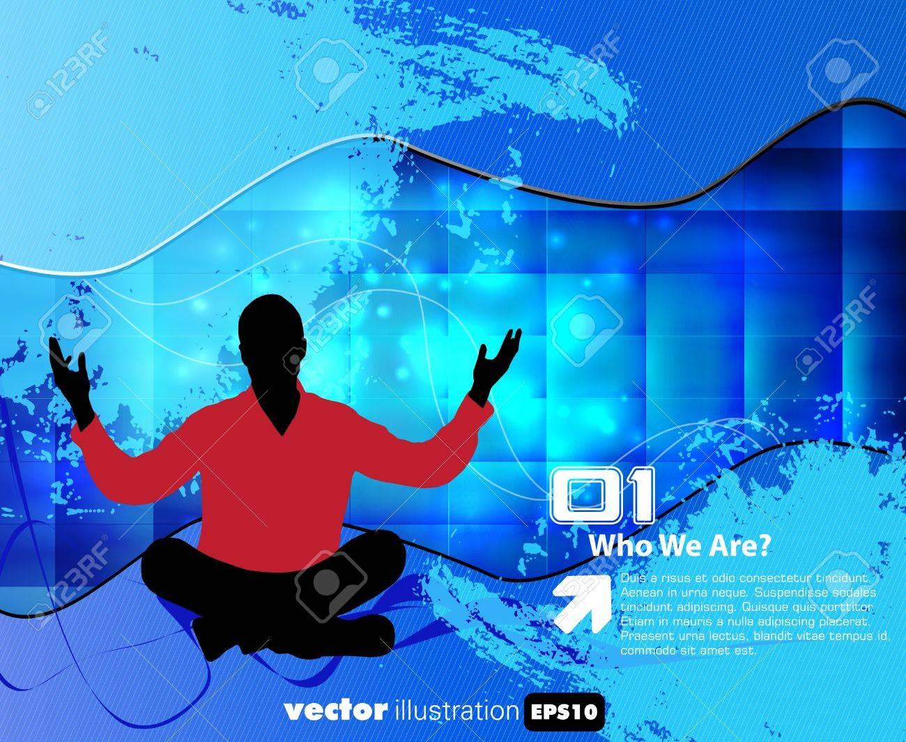 Meditation Stock Vector - 15741637