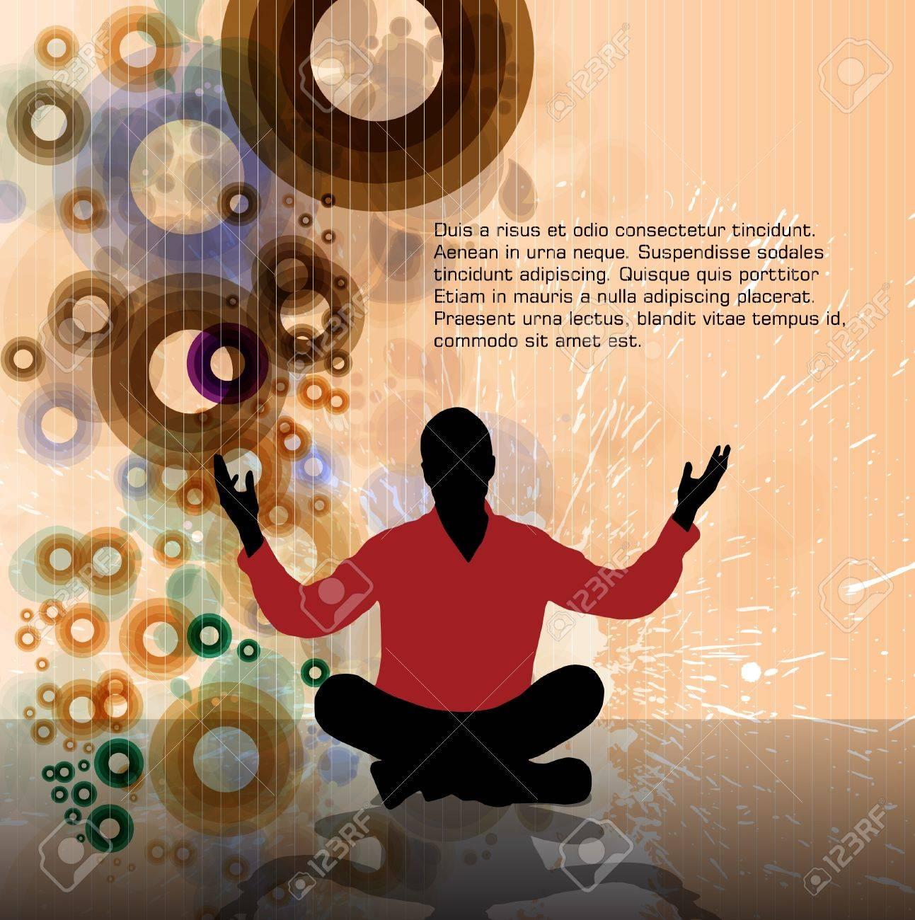 Meditation Stock Vector - 15786003