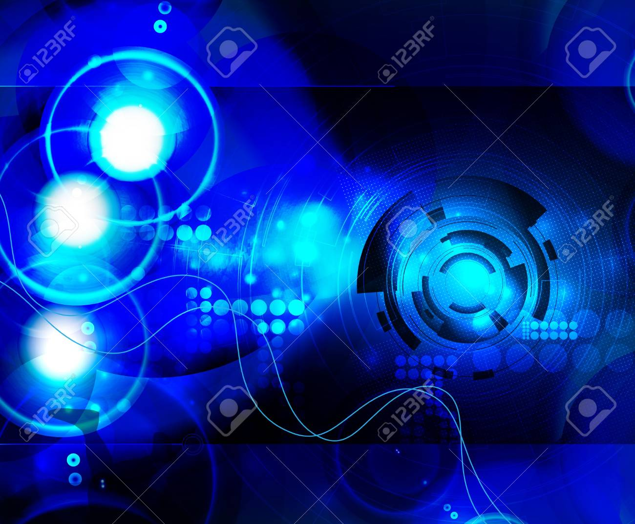 Abstract technical background Stock Vector - 15851128