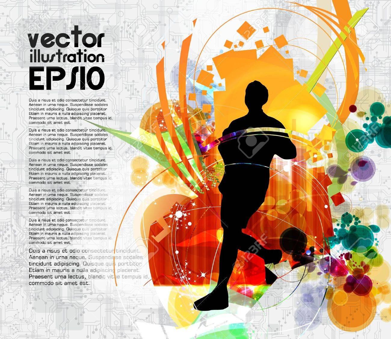 Sport illustration - 16116482