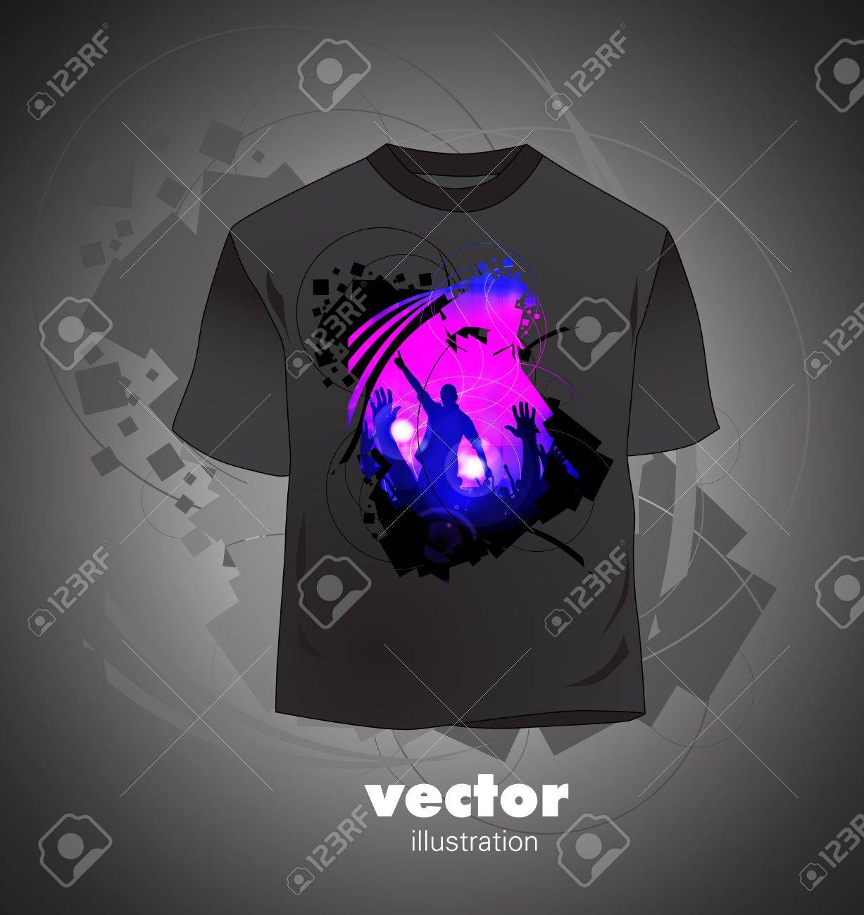 T-shirt design Stock Vector - 16135601