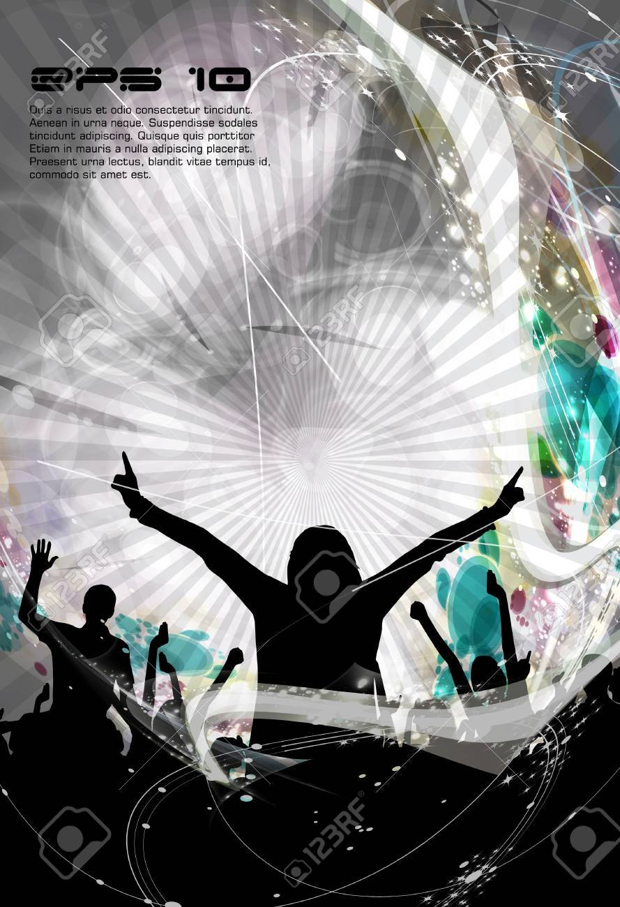 Concert. illustration Stock Vector - 16631904