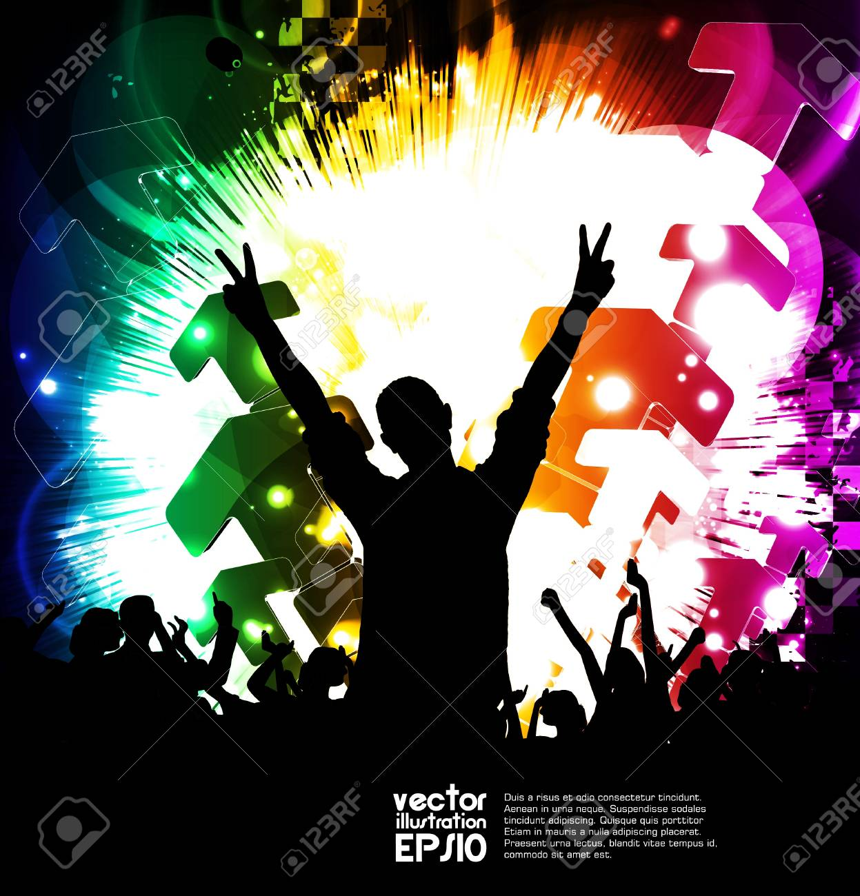 Music party Stock Vector - 17082177