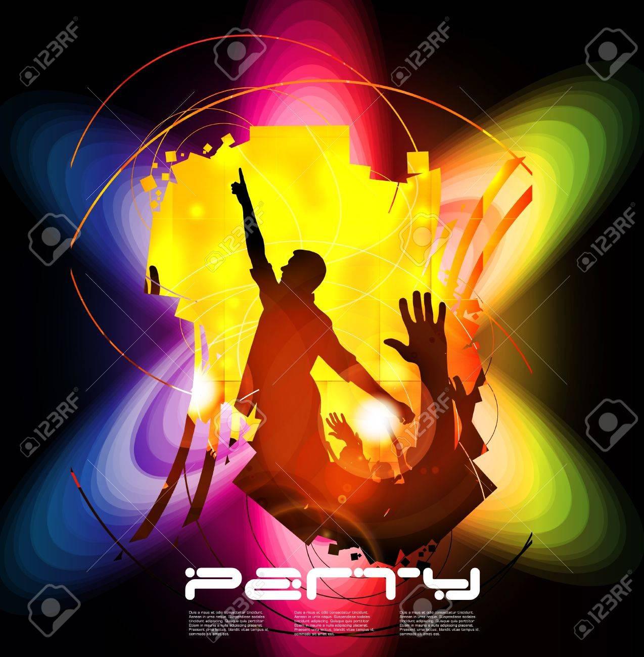 Clubbing. Stock Vector - 17247897