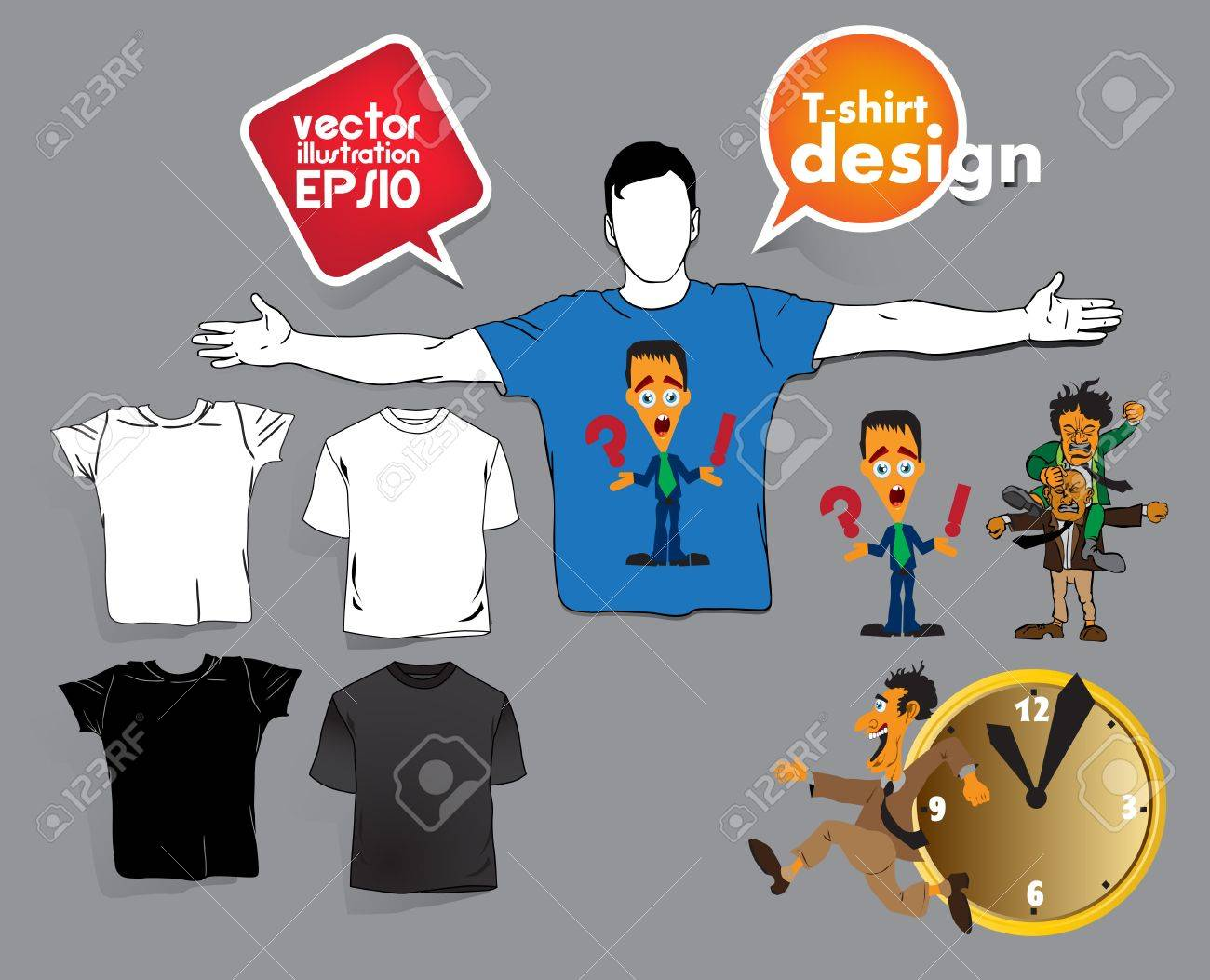 T-shirt design. Stock Vector - 17413427