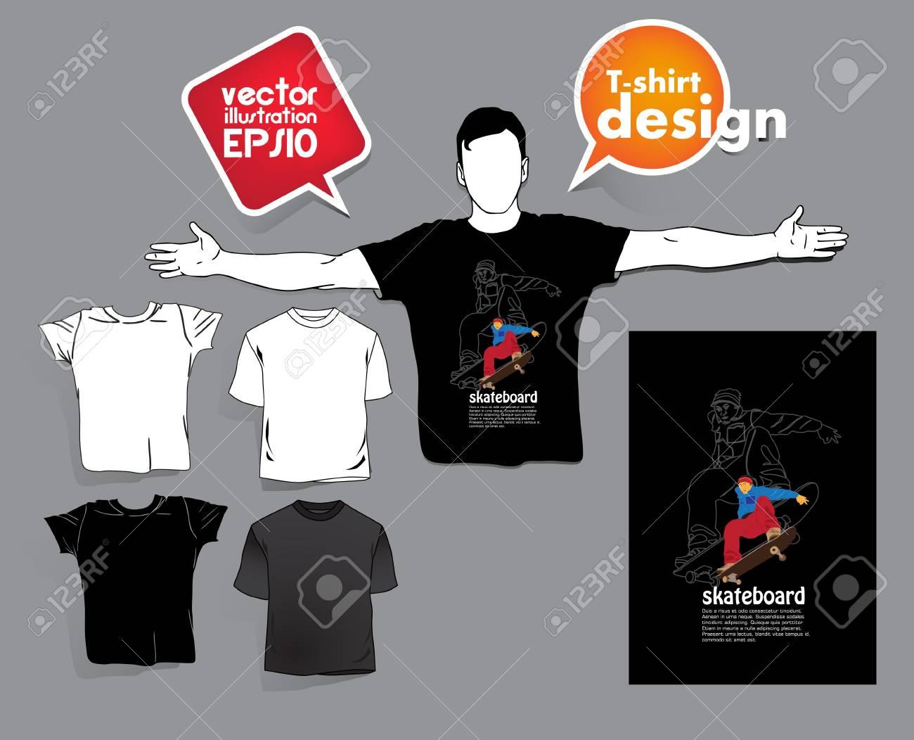 T-shirt design Stock Vector - 17413429