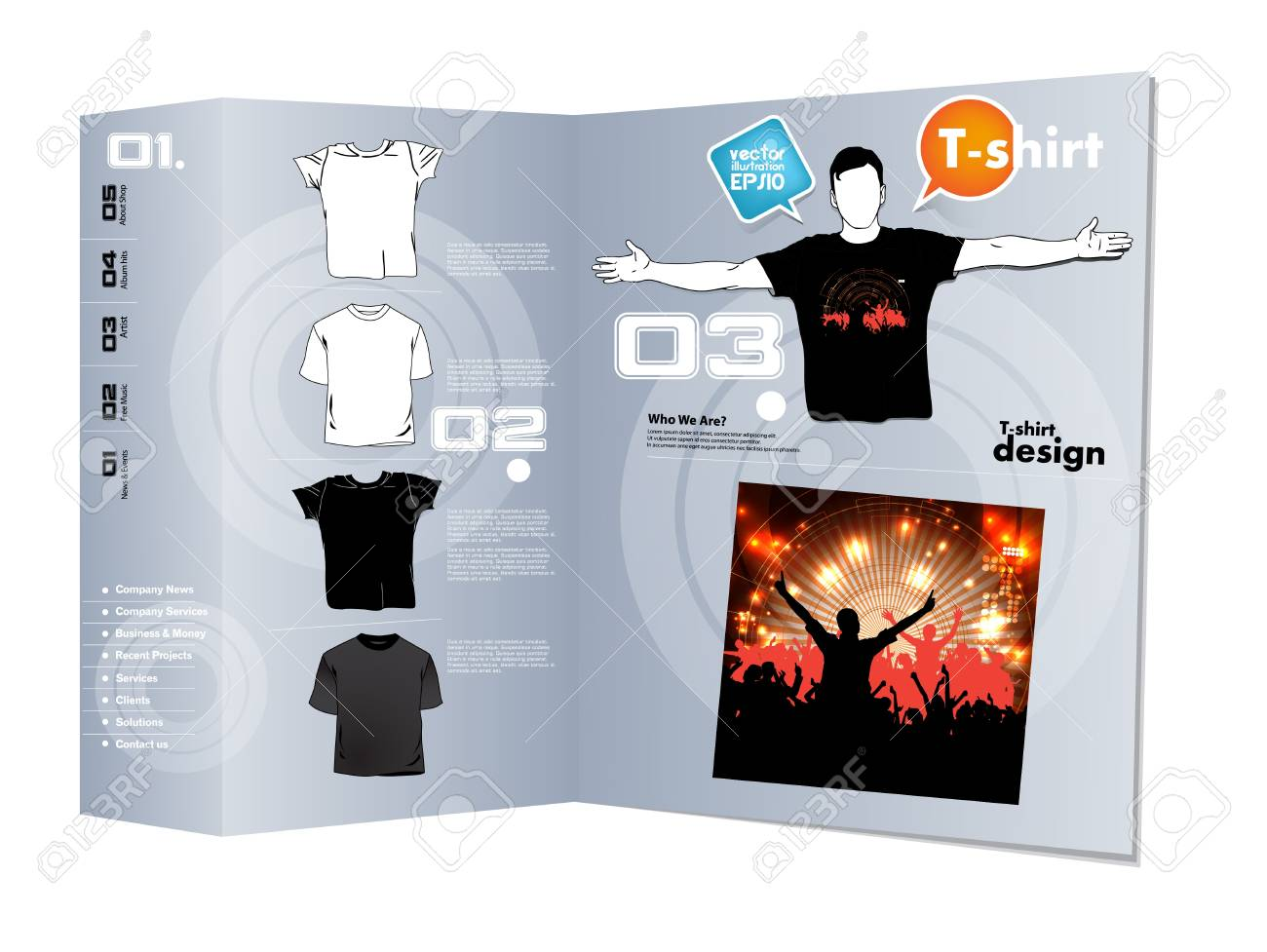 T-shirt design Stock Vector - 17413494