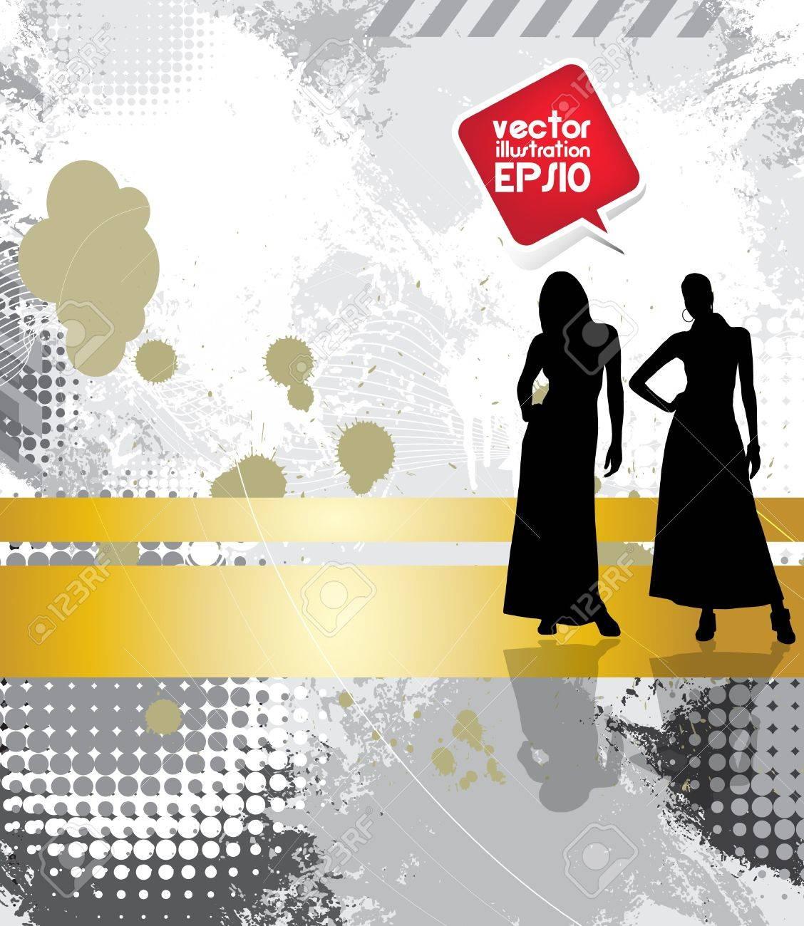 Fashion woman Stock Vector - 17529870