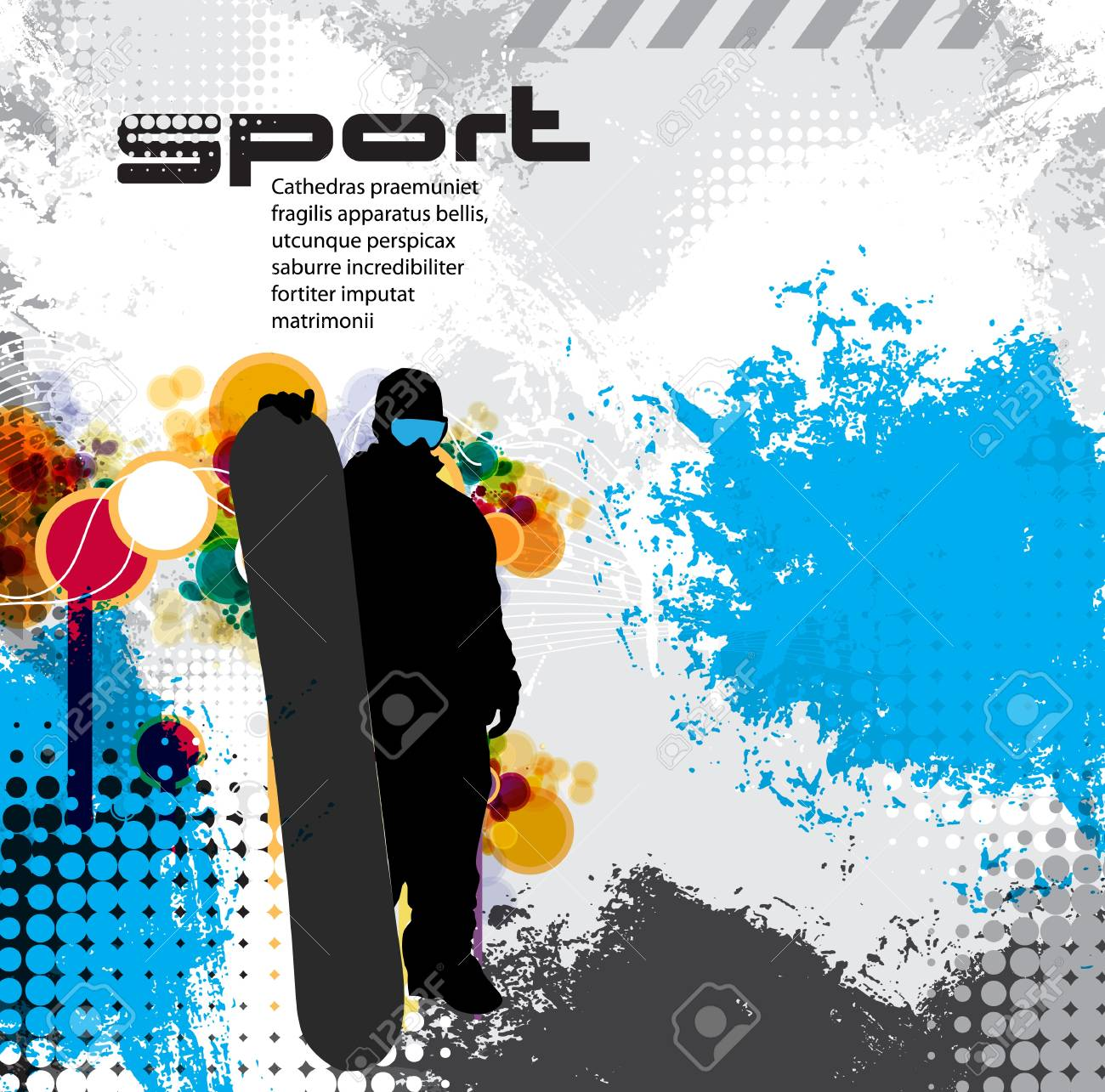 Snowboarder Stock Vector - 17529912