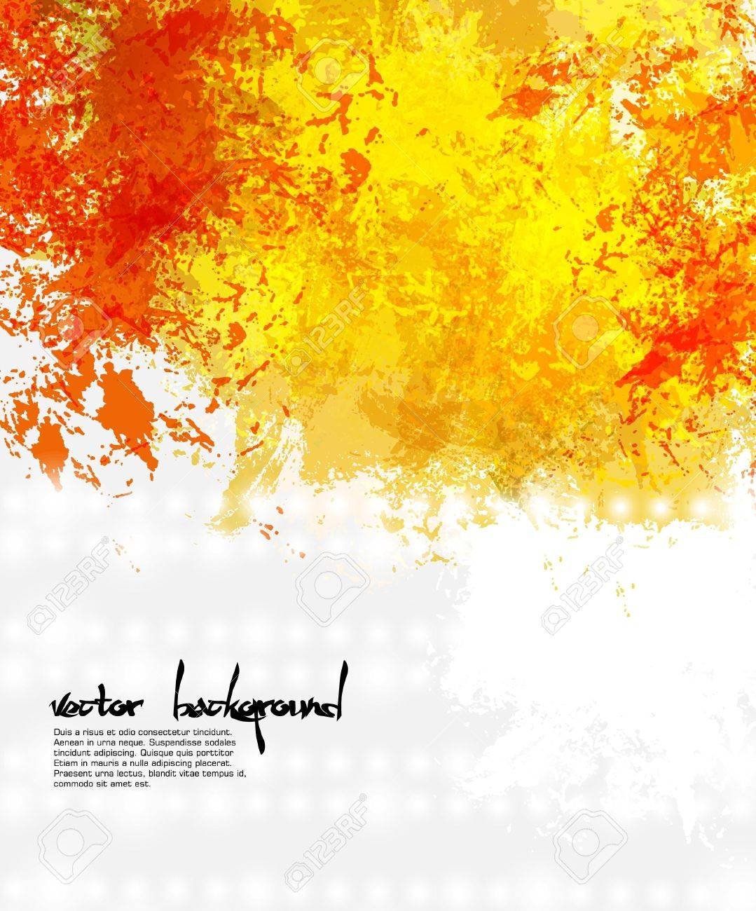 Abstract artistic Background of bright colors - 22069264