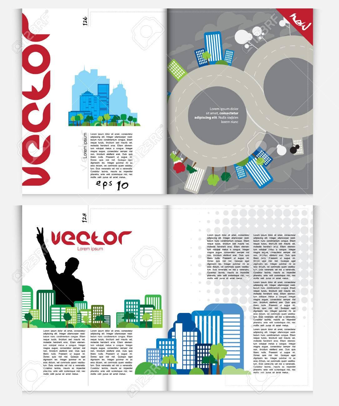 Magazine layout Vector - 22583277