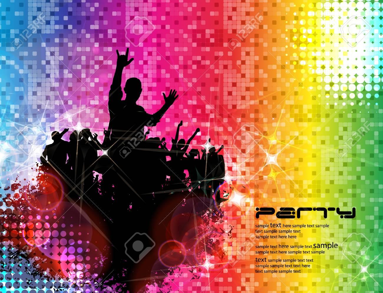 Music event background Vector eps10 illustration - 24385188