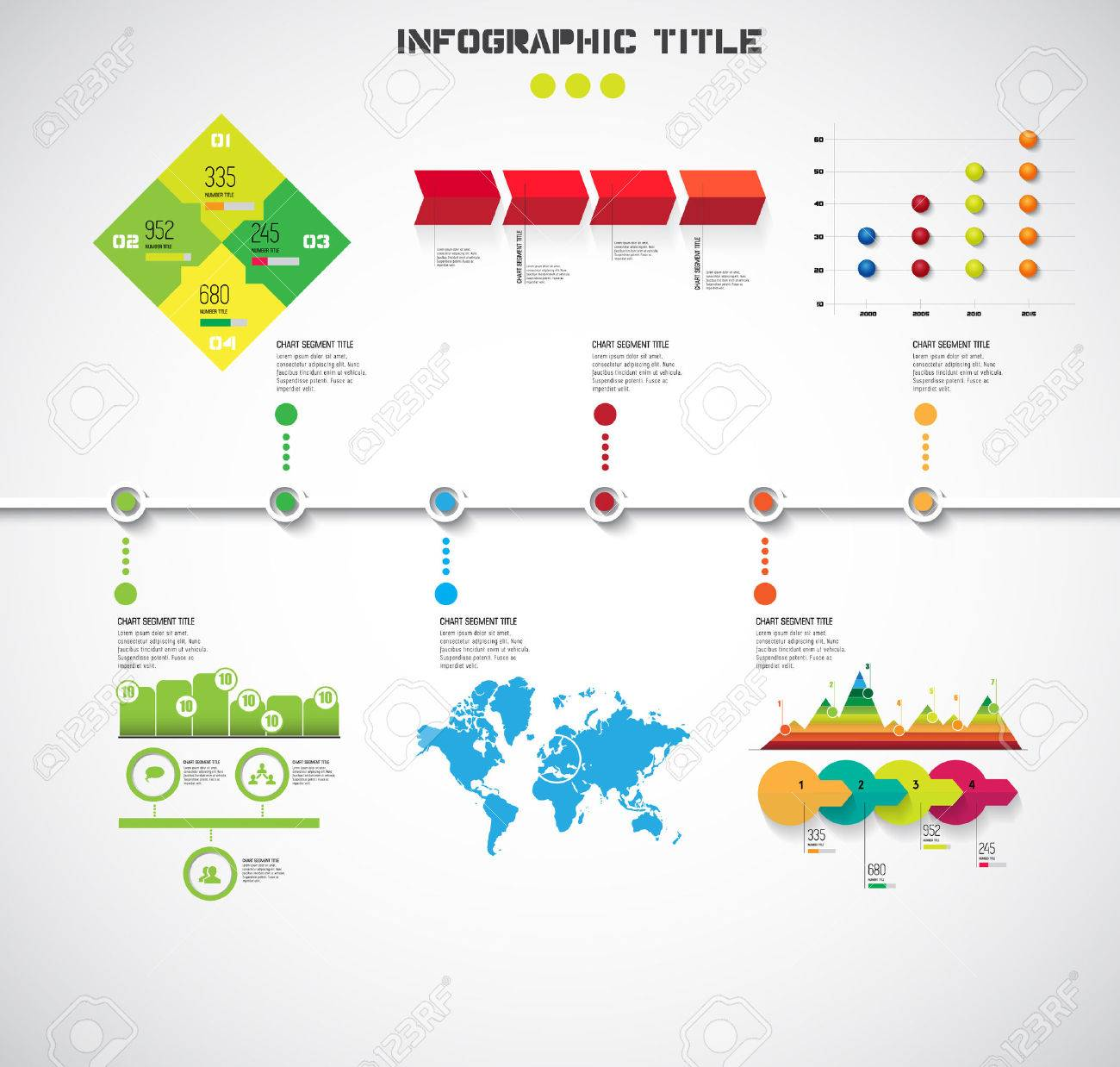 Timeline Infographic. vector - 32483509