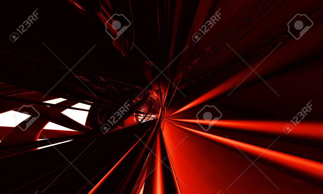 abstract red background - 42897851