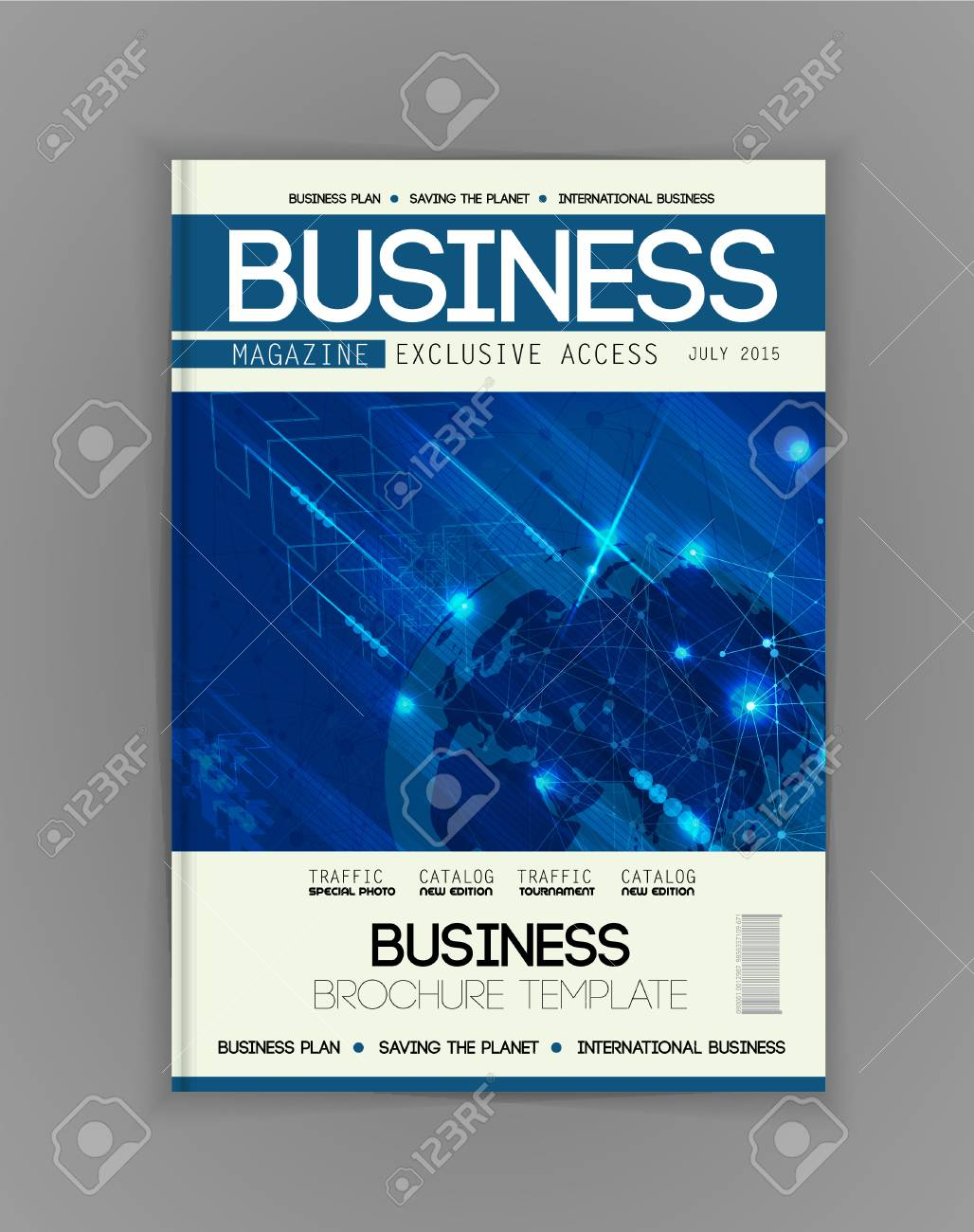 business magazine cover vector royalty free cliparts vectors and