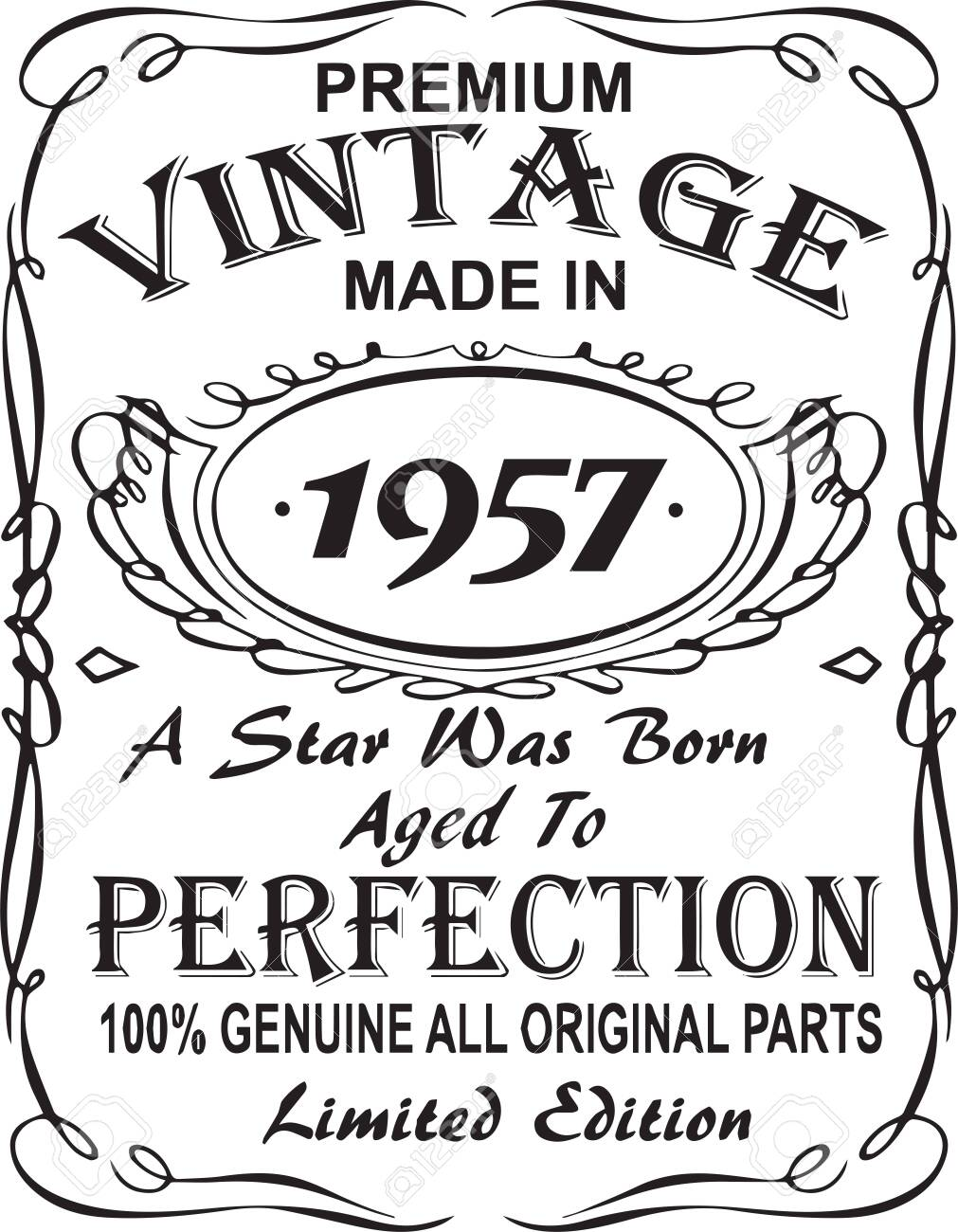 Vintage 1947 Svg Birthday Svg Limited Edition 1947 Aged Perfection Png Legend Since 1947 Awesome Since 1947 Bday Svg The Myth