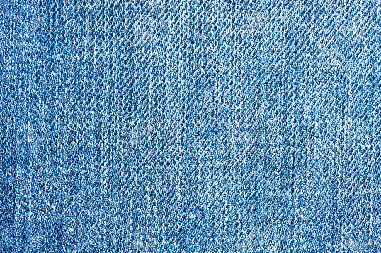 Textured Blue Jeans Denim Linen Fabric Background Stock Photo ...
