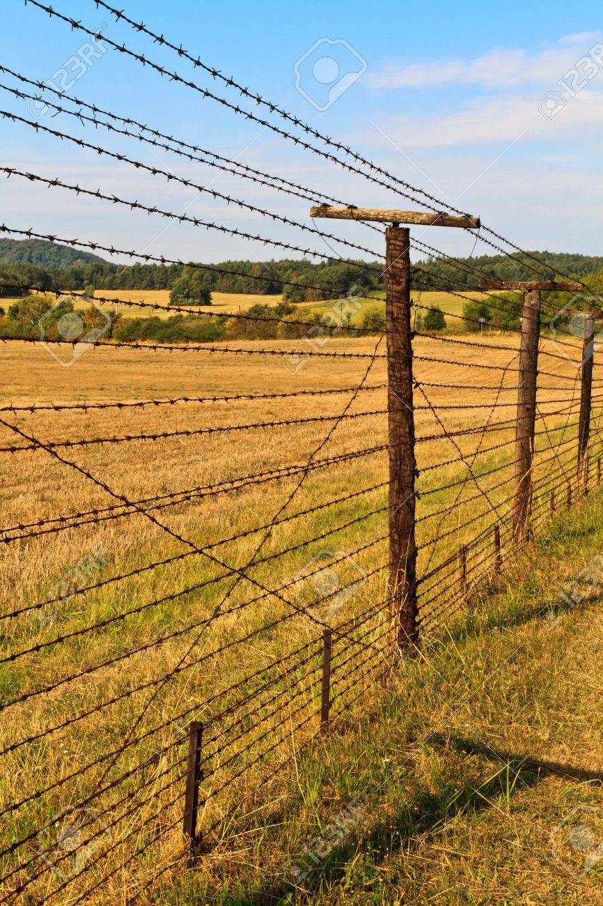 Iron curtain - Remains Of Iron Curtain Near Border Of Czech Republic And Austria Iron Curtain Divided Europe