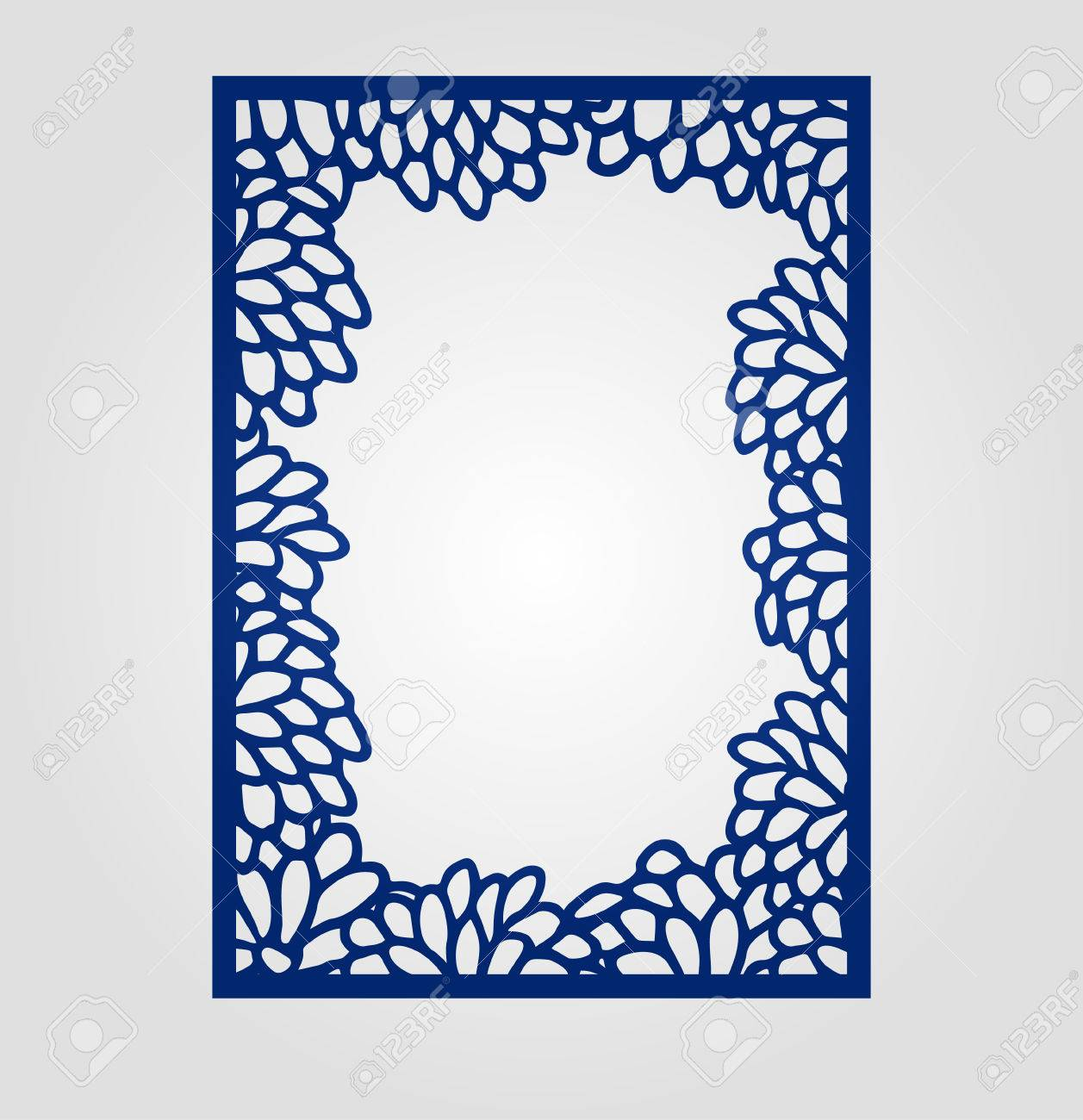 Abstract cutout panel for laser cutting die cutting or stencil abstract cutout panel for laser cutting die cutting or stencil vector filigree pattern for stopboris Images