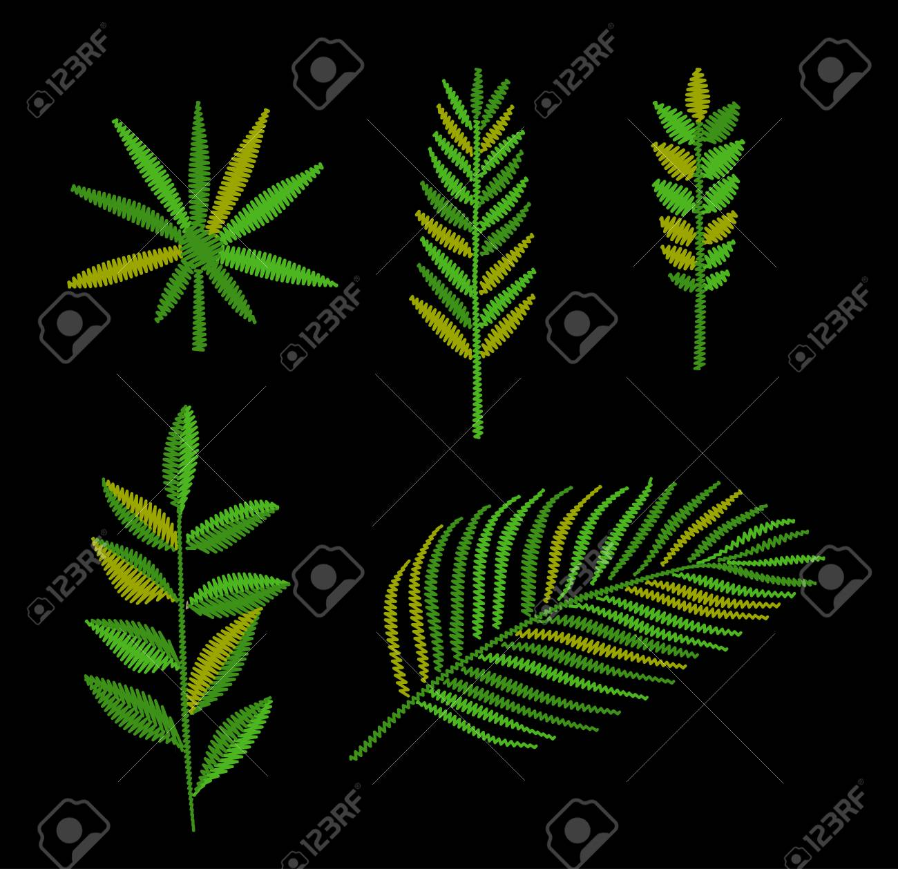 Tropical Leaves Embroidery Vector Hand Drawing Royalty Free Cliparts Vectors And Stock Illustration Image 69919190 0 flares 0 flares ×. tropical leaves embroidery vector hand drawing
