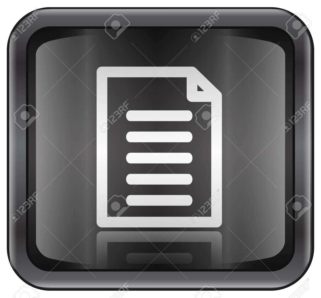 Document icon Stock Photo - 991040