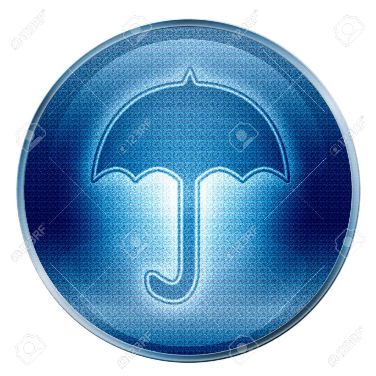 Umbrella icon. (With Clipping Path) Stock Photo - 997858