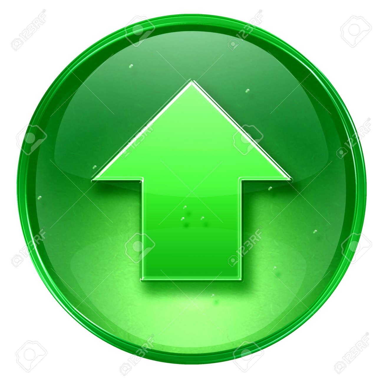Arrow up icon, isolated on white background. Stock Photo - 1849757