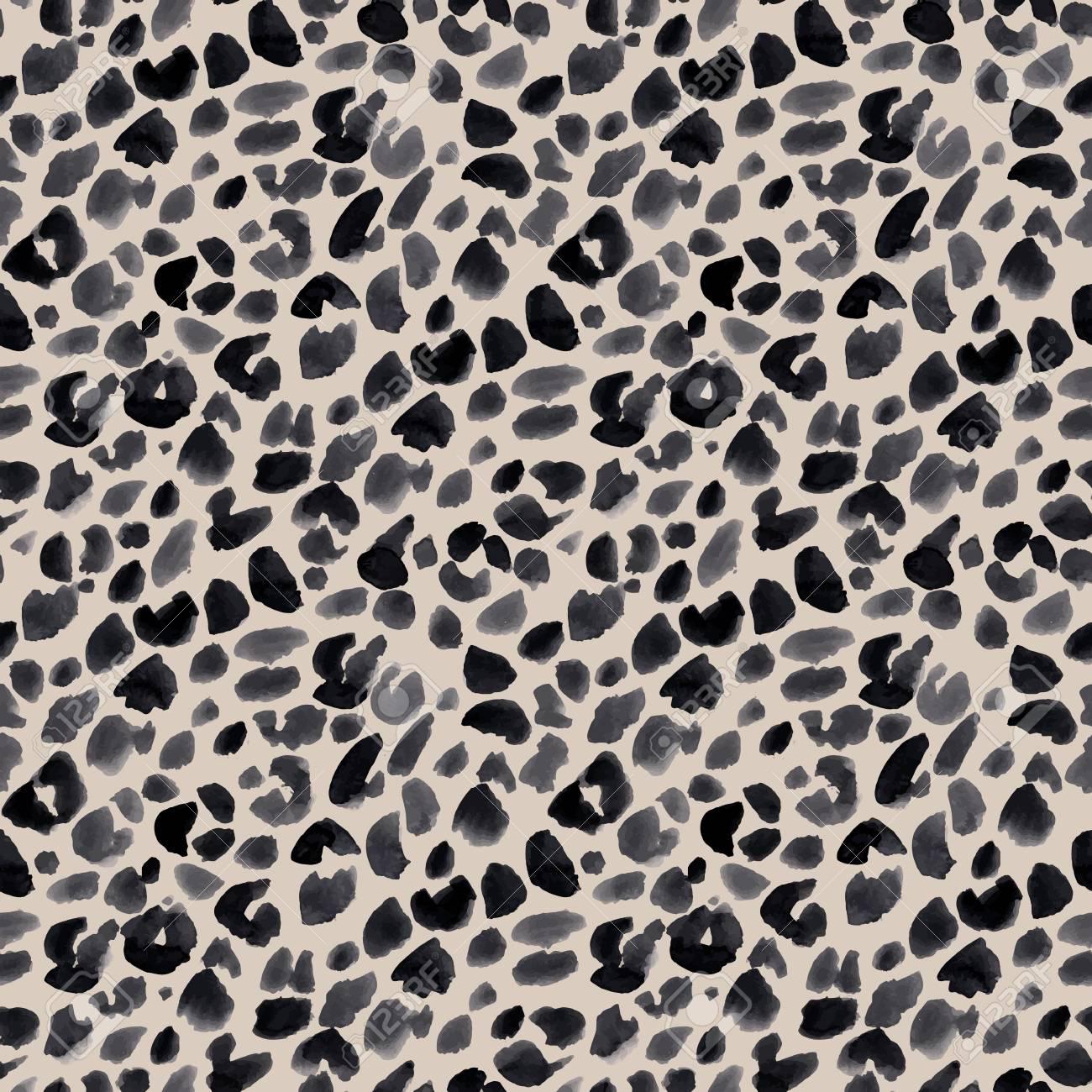 Watercolor safari jaguar - 115659862