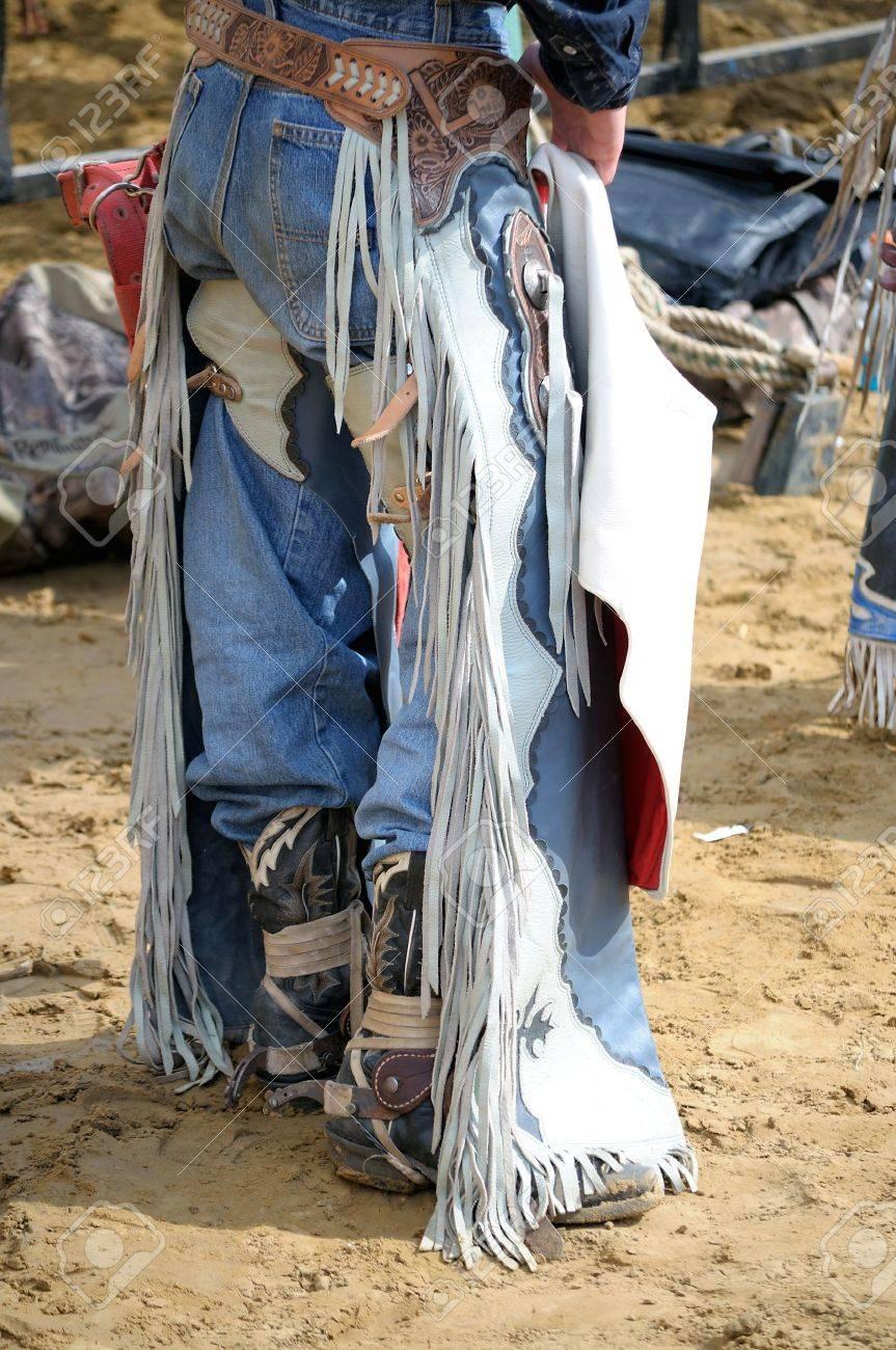 cowboy chaps Stock Photo - 16680447