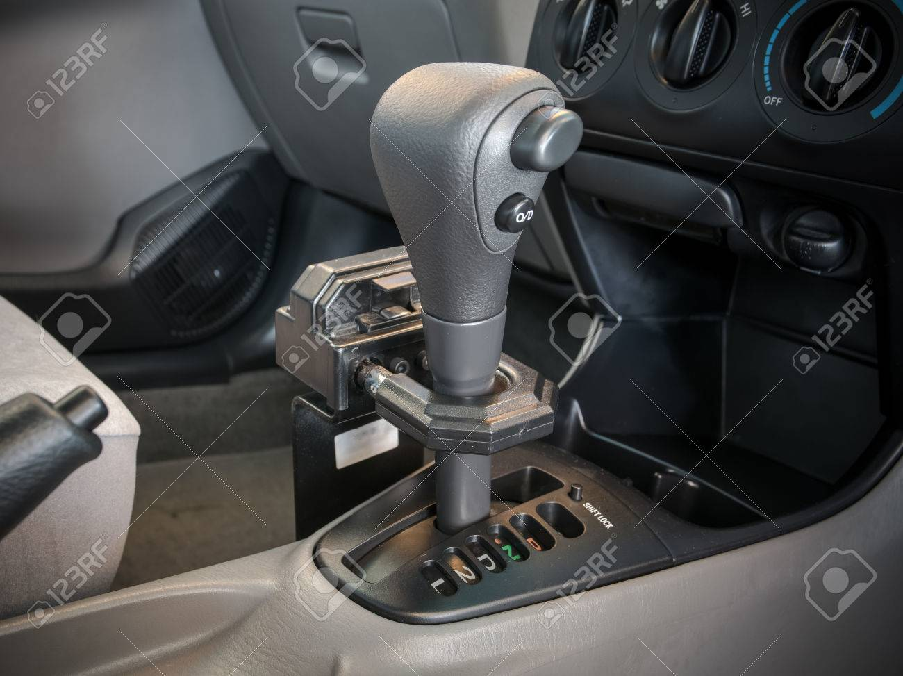 Iron lock on automatic gear shift  Safety