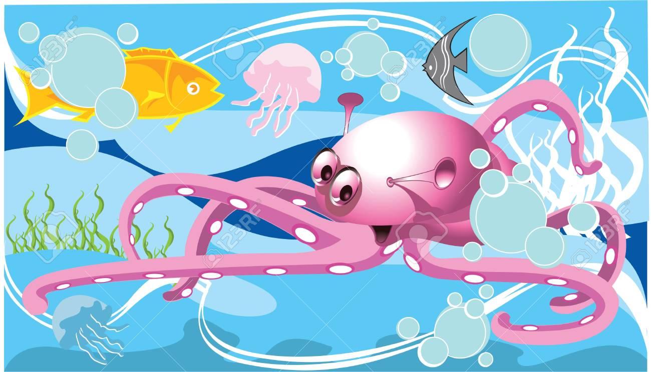 Sea Life Stock Vector - 3179816