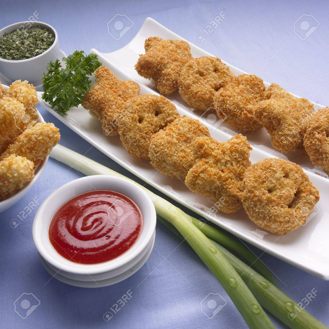 Funny Nuggets Stock Photo - 4550721