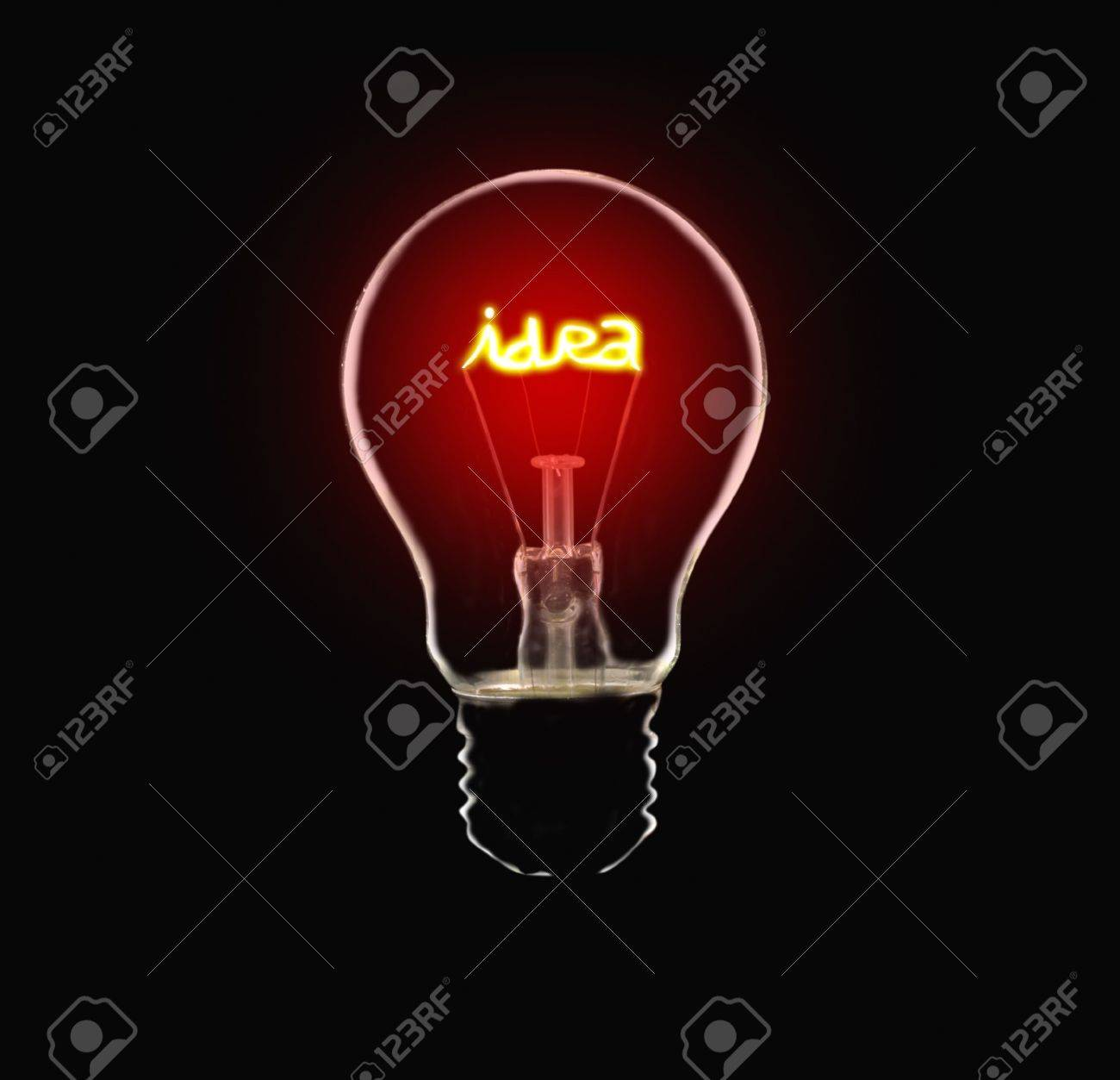 Idea Bulb Stock Photo - 7070388