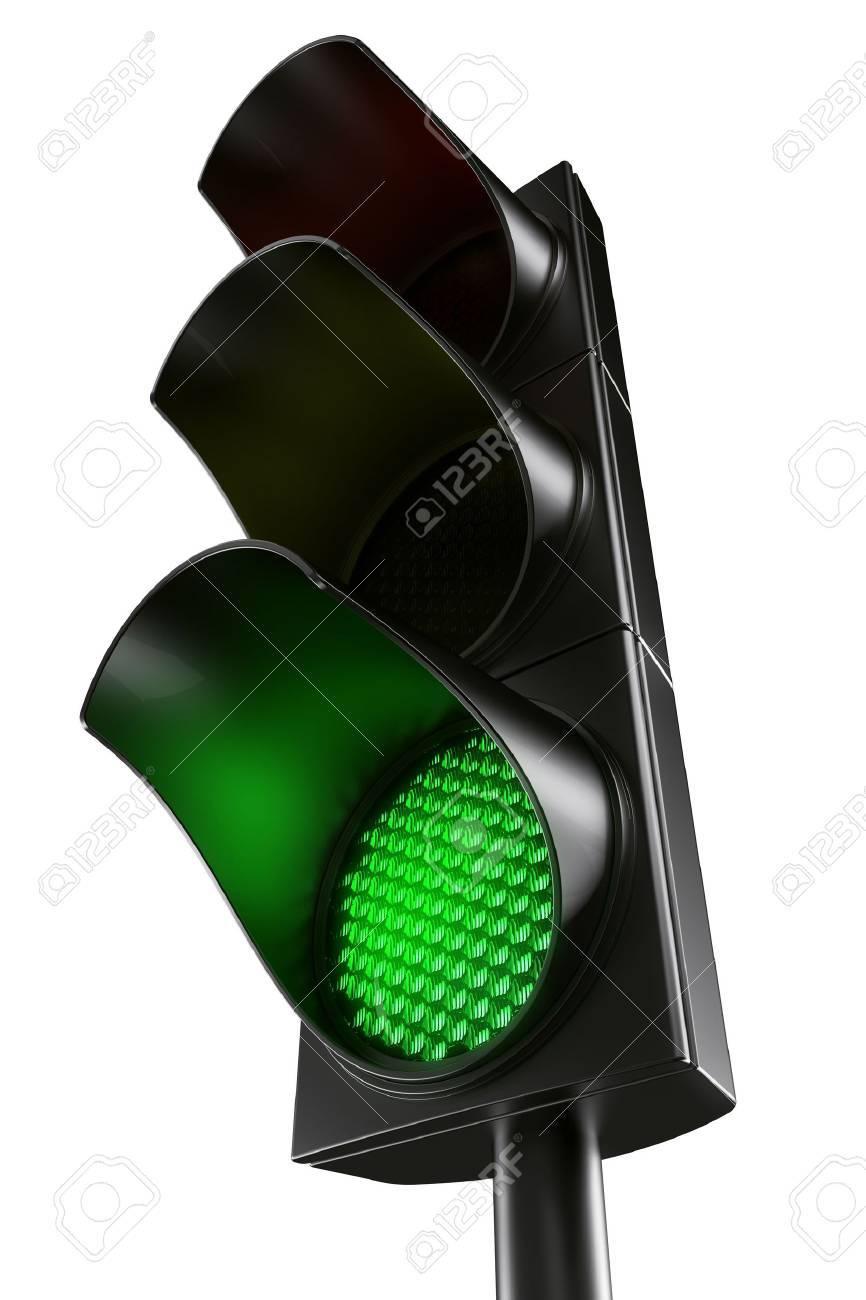 3d rendering traffic light Stock Photo - 3276873