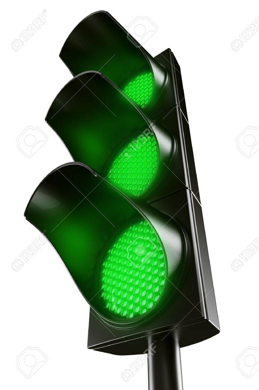 3d renderings fg an all green traffic light Stock Photo - 4259501  sc 1 st  123RF.com & 3d Renderings Fg An All Green Traffic Light Stock Photo Picture And ...