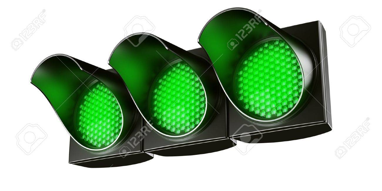 3d renderings fg an all green traffic light Stock Photo - 4259504  sc 1 st  123RF.com & 3d Renderings Fg An All Green Traffic Light Stock Photo Picture And ...