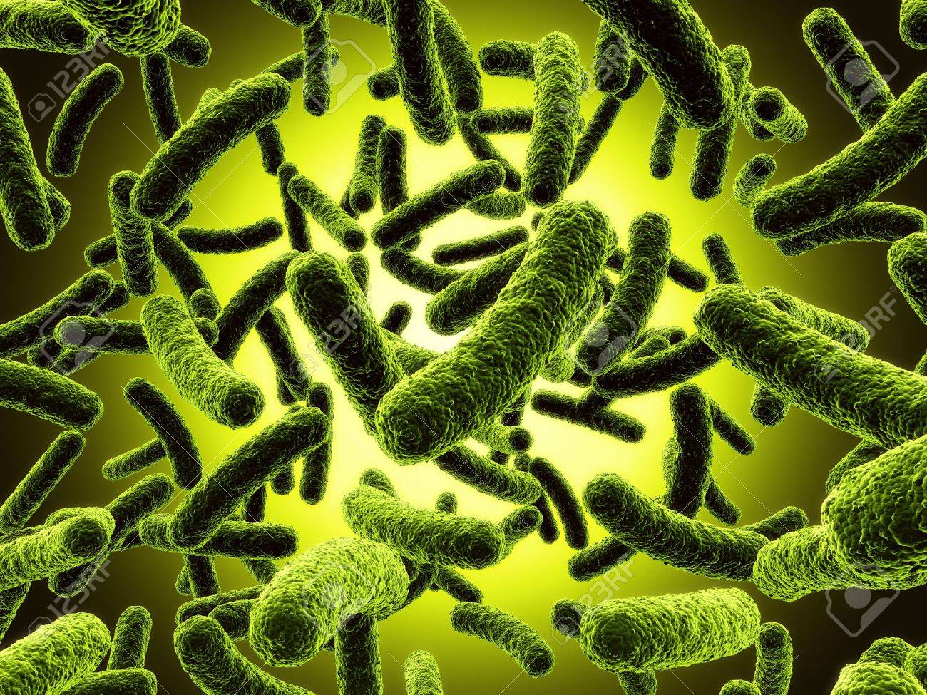 3d rendering of a bacteria Stock Photo - 4659975