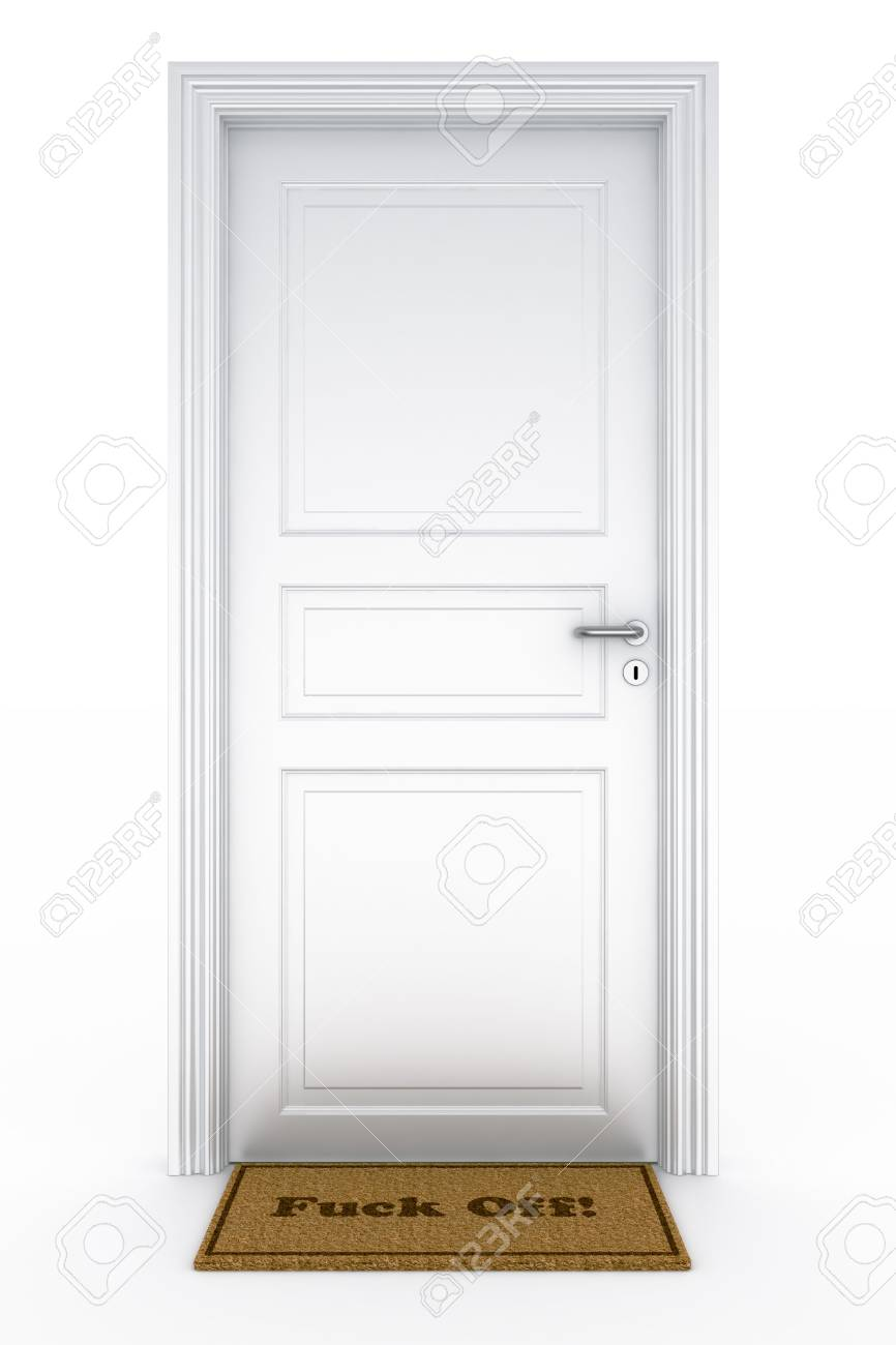 3d rendering of a door Stock Photo - 5816867