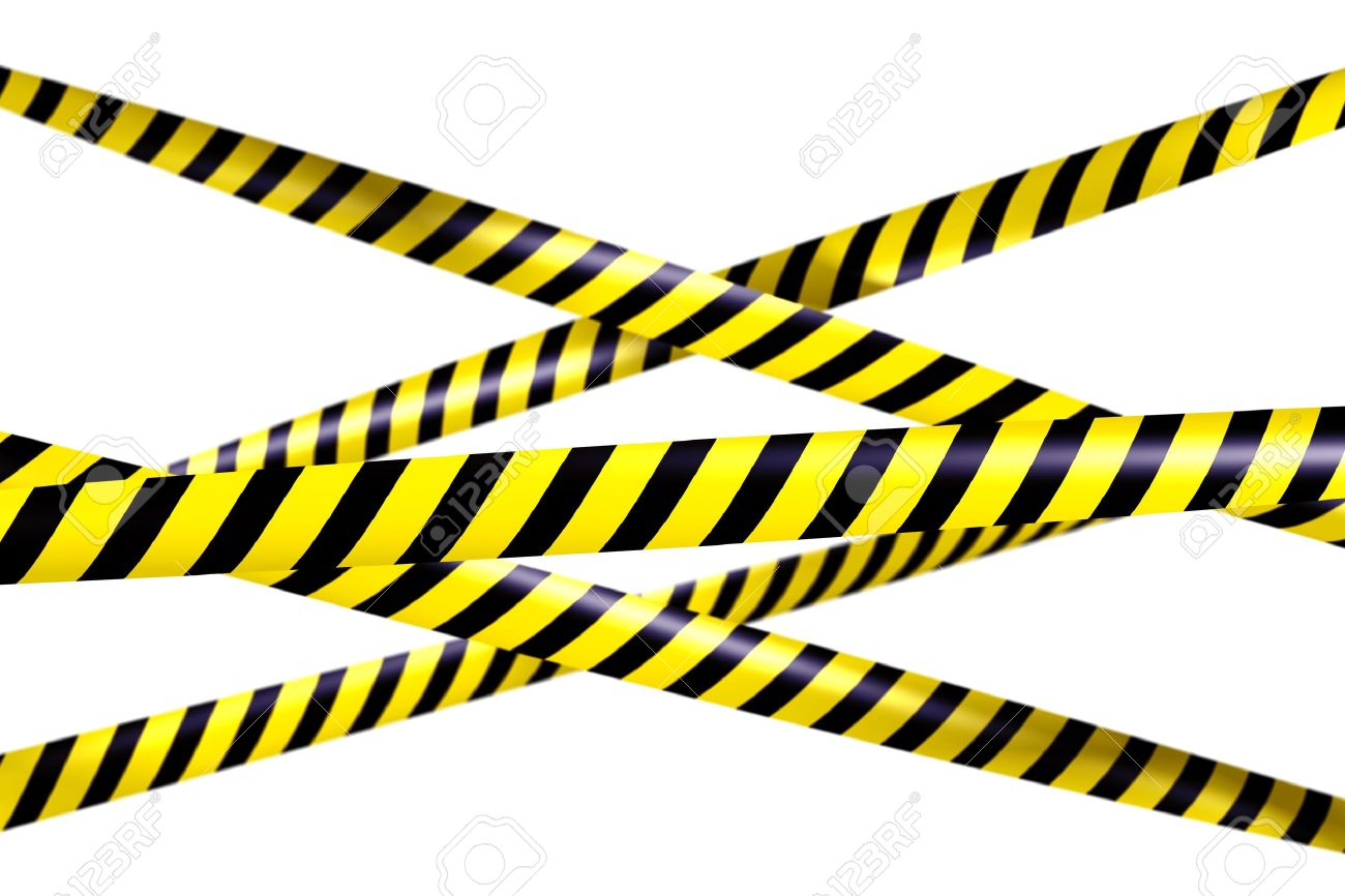 3d rendering of blank caution tape stock photo picture and royalty rh 123rf com Do Not Cross Police Tape Warning Tape Border