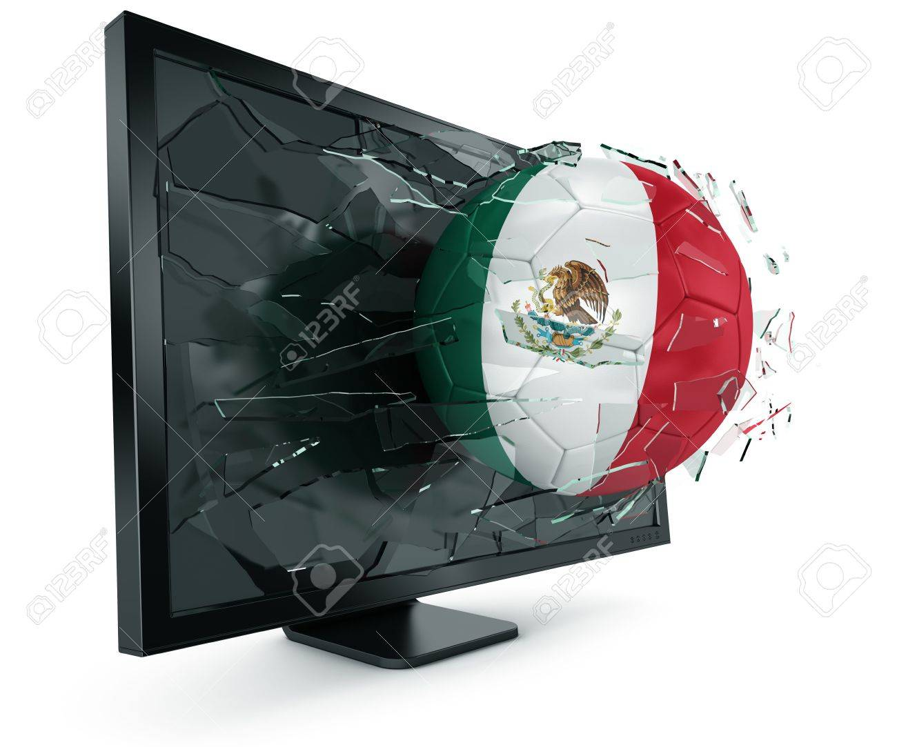3d mexican flag stock photos royalty free 3d mexican flag images